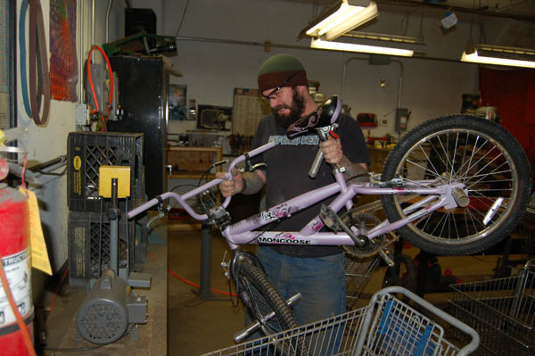 Bike Building is serious business