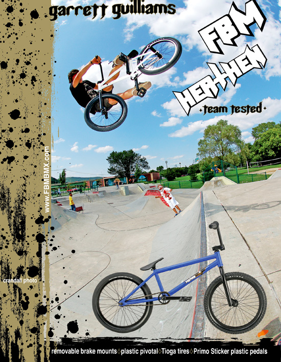new Bmx plus ad with gary ginch
