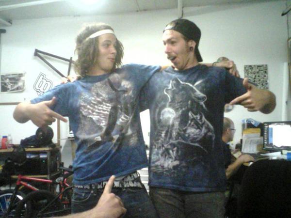 Adam Ginch and Joel B