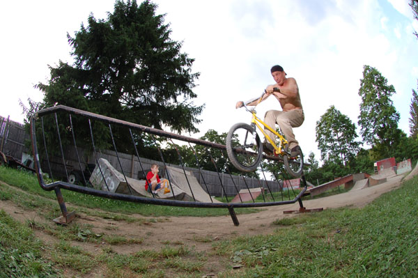 This rail was at the Ghetto comp...