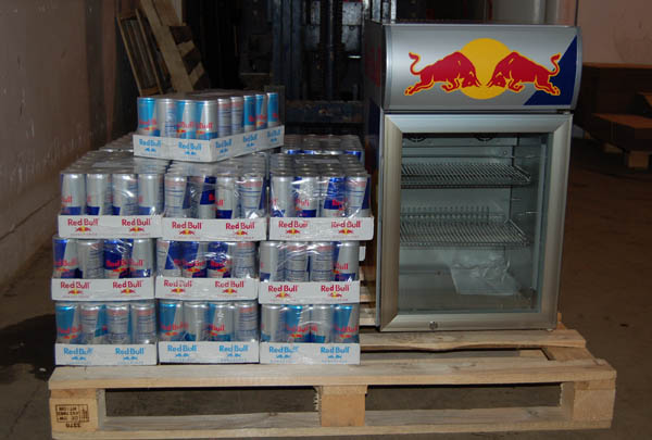 Josh from red Bull sponsored our current disaster....thanks bud!