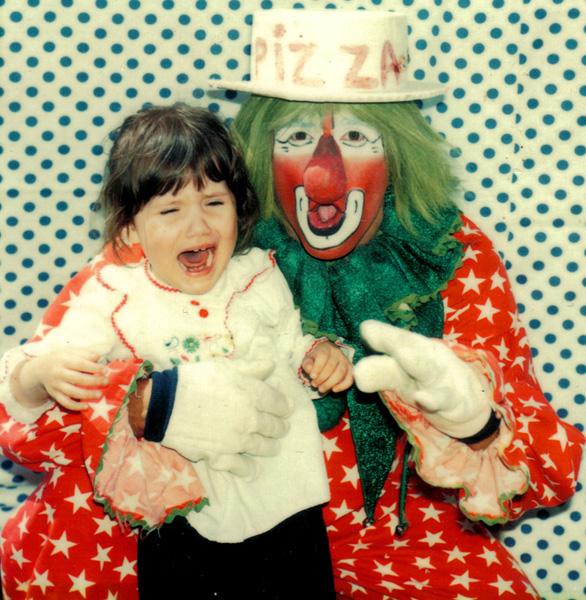 Not everyone likes pizza, not everyone likes clowns, does anybody like pizza clowns?