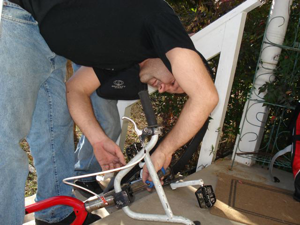 rich hoppe, expert bicycle mechanic