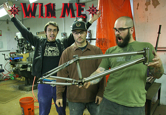 This is the frame you can win, manufactured right here at the FBM headquarters in Johnson City, NY.