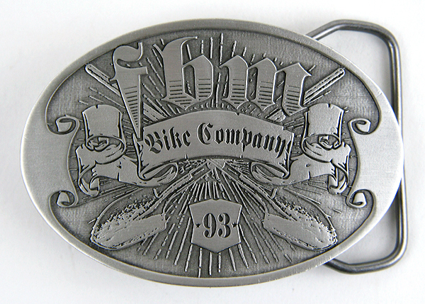 Cast Pewter steadfast inspired Belt Buckle.
