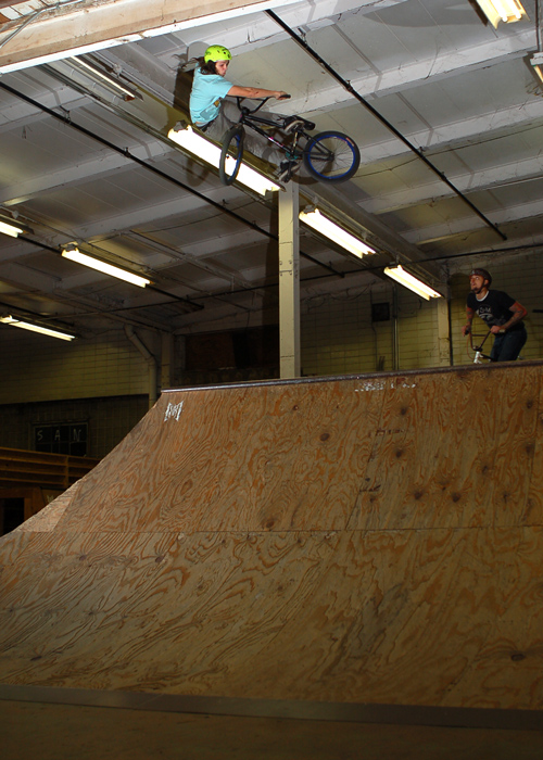 Adam Ginch At Ramp Riders in St, Louis!!!