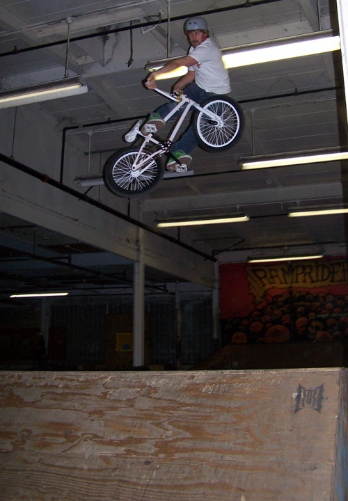 Sam Schulte of Tree Bicycles.