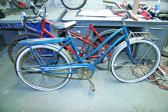 The vintage bike collection is growing around here on what seems like a daily basis.