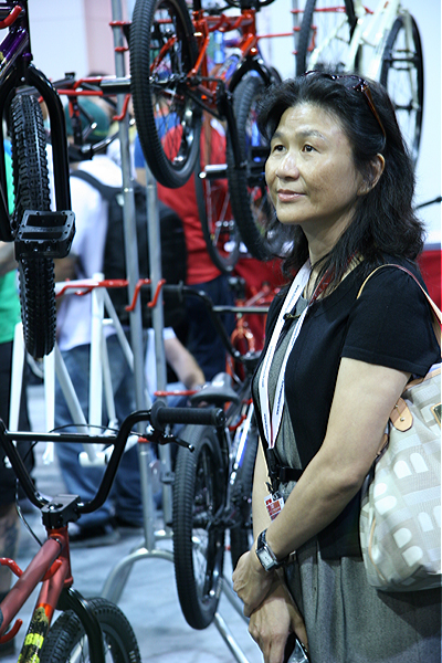 The most powerful woman in BMX, Sherry Hsu is a legend.