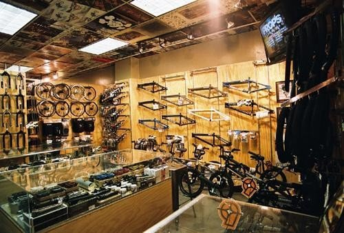 Full stocked with all the latest bmx awesomeness