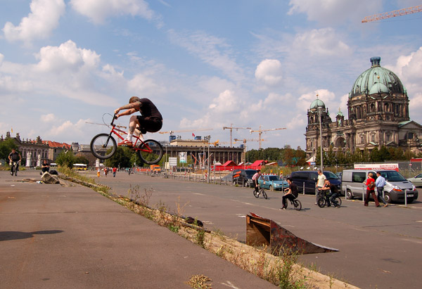 4down Berlin trip photo- Cranpa boost