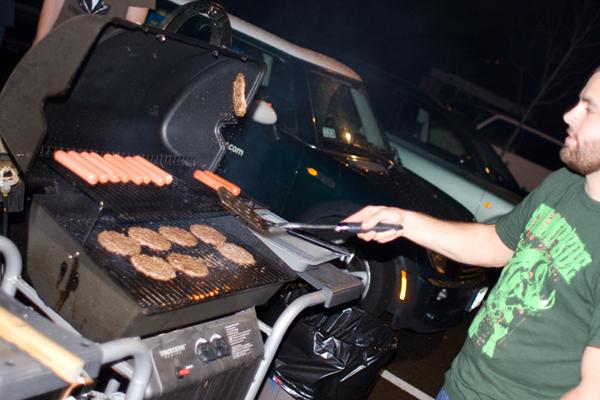 heavy grillin...