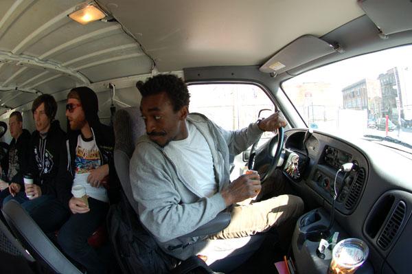Wormz, in the new Ram van
