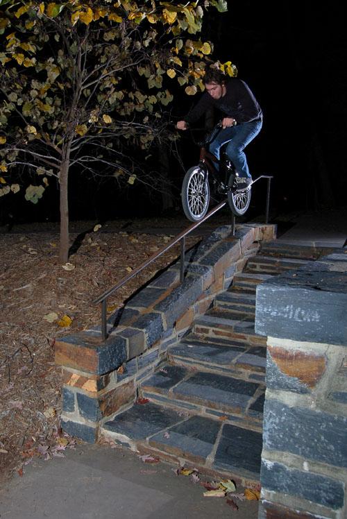 Joel barnett, Dialing in some nice handrail action!
