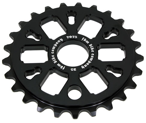 6er Sprocket - CNC Machined 7075-T6 Aluminum 25t, 28t (black, red, blue)