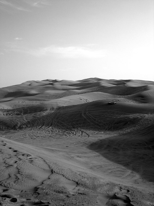 The Dubai landscape- Pic Corrigan