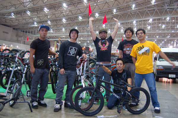 Some of the guys from Moto X int!