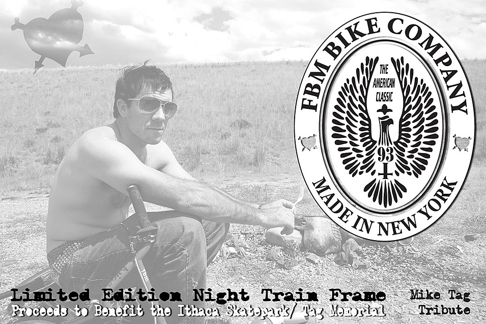Limited Edition Night Train Frame - Mike Tag Tribute