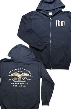 FBM Infinity Zip-Up Hooded Sweatshirt