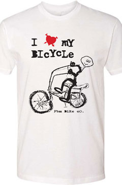 FBM I Love My Bike T-Shirt