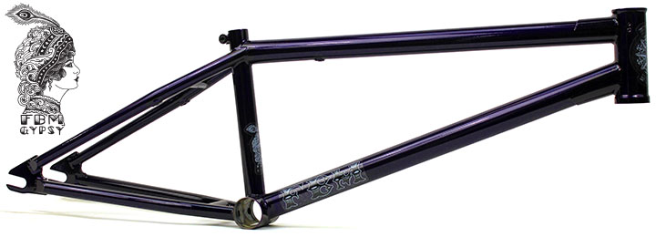 FBM Gypsy 3 Frame - Trans Purple