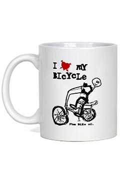 FBM I Love My Bike Coffee Mug