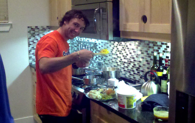 Gary Young Eats Dinner!