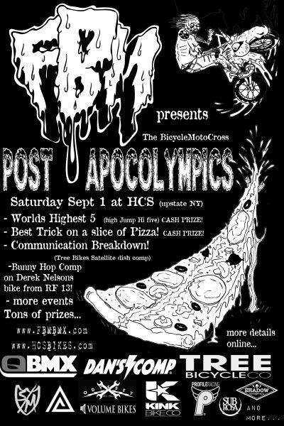 THE BMX POST APOCOLYMPICS!