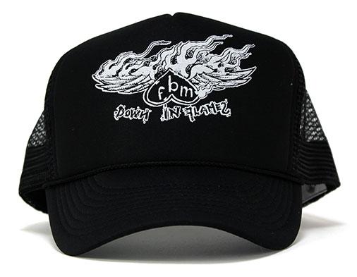 fbm-down-in-flames-mesh-trucker-hat