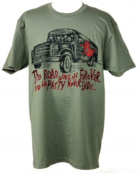 fbm bus shirt olive green