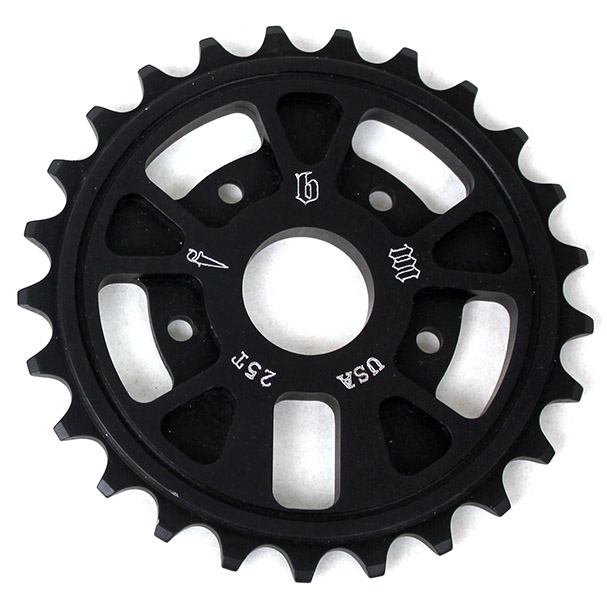 fbm supernaut sprocker 25t black-600