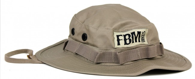 fbm bikes bucket hat khaki