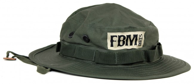 fbm bikes bucket hat olive