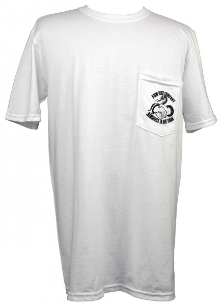 fbm learn the hardway pocket t-shirt front