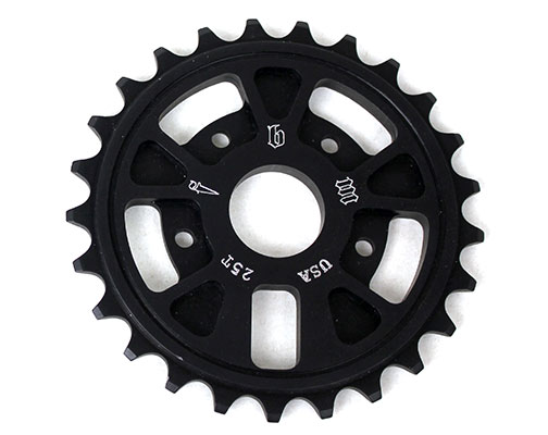 fbm-supernaut-sprocket-25t-black