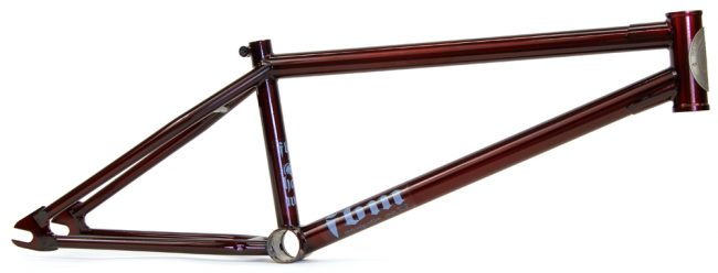 fbm hardway v2 frame profile oxblood red