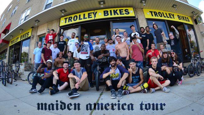 Maiden America- Trolley Bikes