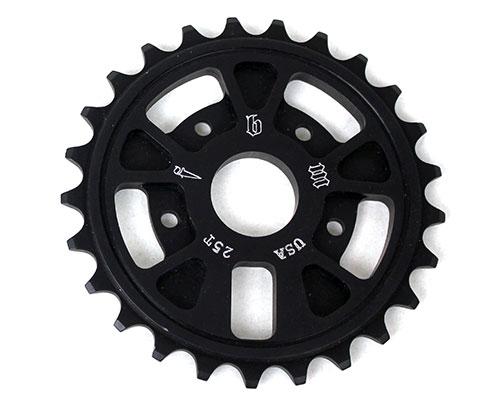 fbm-supernaut-sprocket-25t-black