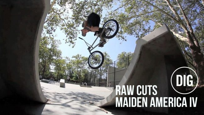 Raw Maiden cuts!