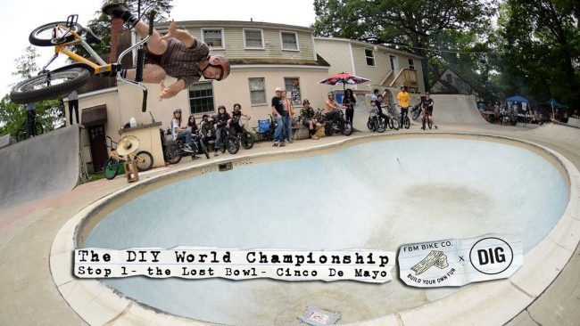 DIY BMX WORLDS – STOP 1 – THE LOST BOWL
