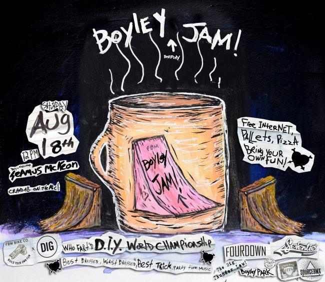 BOYLEY JAM- DIY World Series