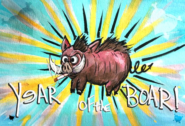Year of the Boar