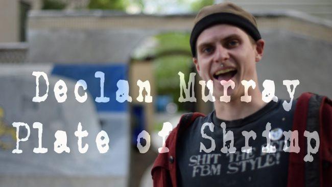 Declan Murray -Plate of Shrimp