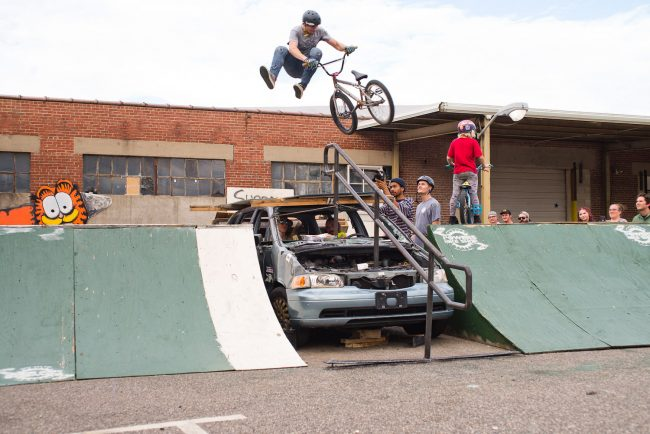 Chris Hallman, Ryan Guettler on FBM (spray painted ramps)