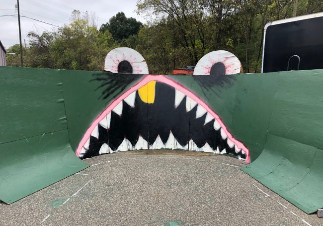 Frog Shark Garfield DIY Ramps