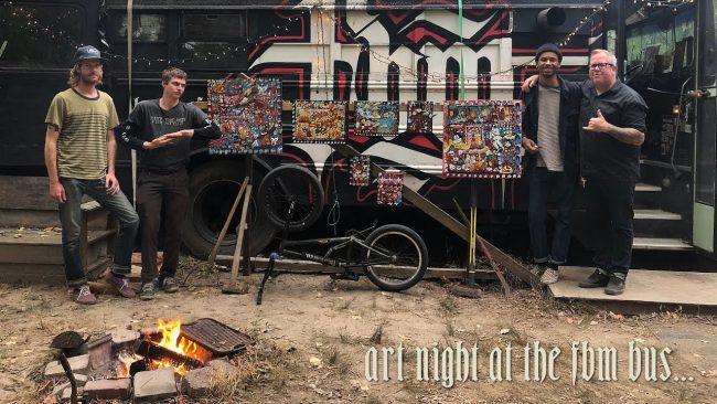 Art Night at the Bus